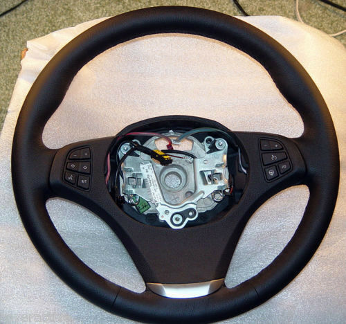 bmw brand e83 lci x3 2007 2010 sport steering wheel with. Black Bedroom Furniture Sets. Home Design Ideas