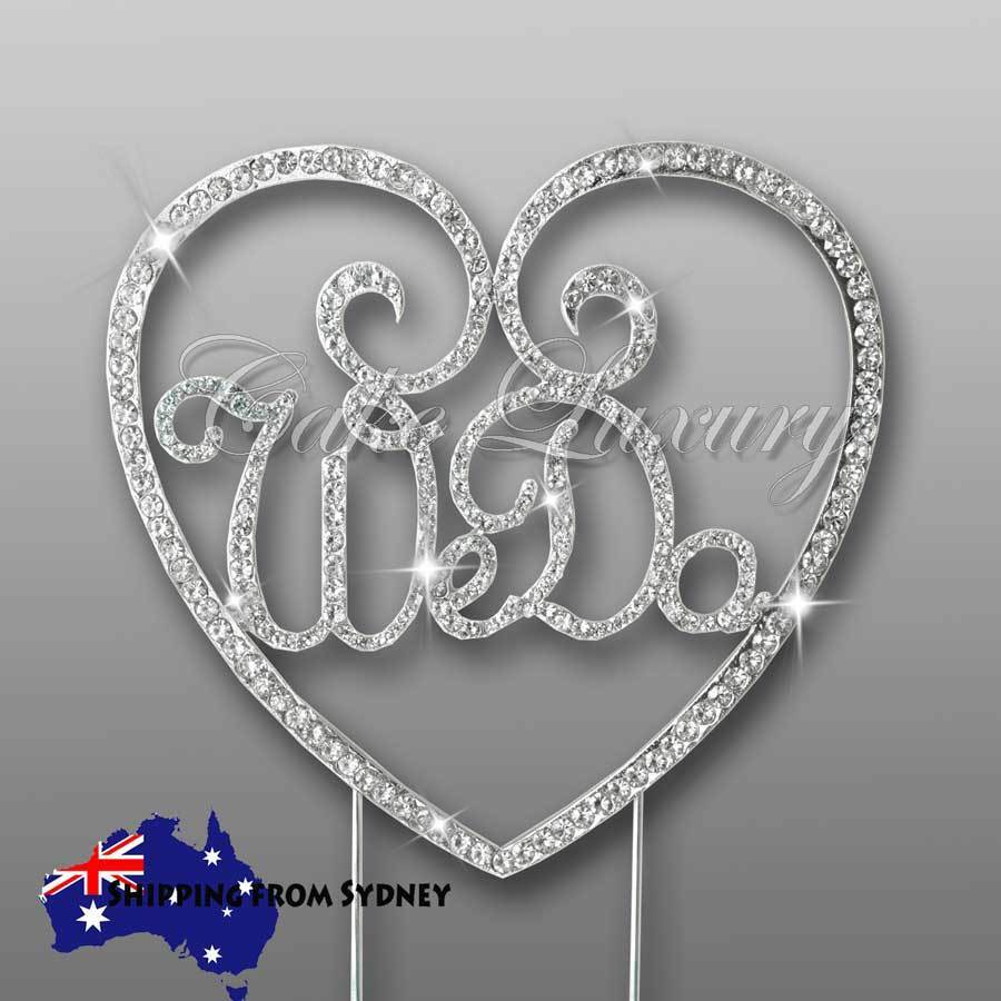 sparkle wedding cake toppers we do wedding cake topper diamonte rhinestone 20305