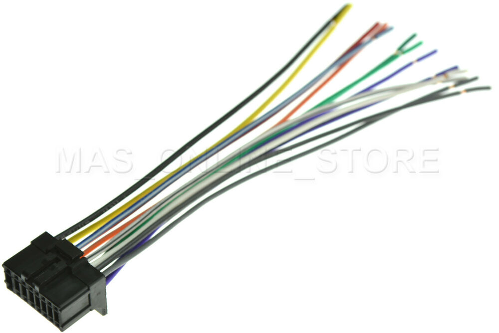 wire harness for pioneer deh p dehp ships
