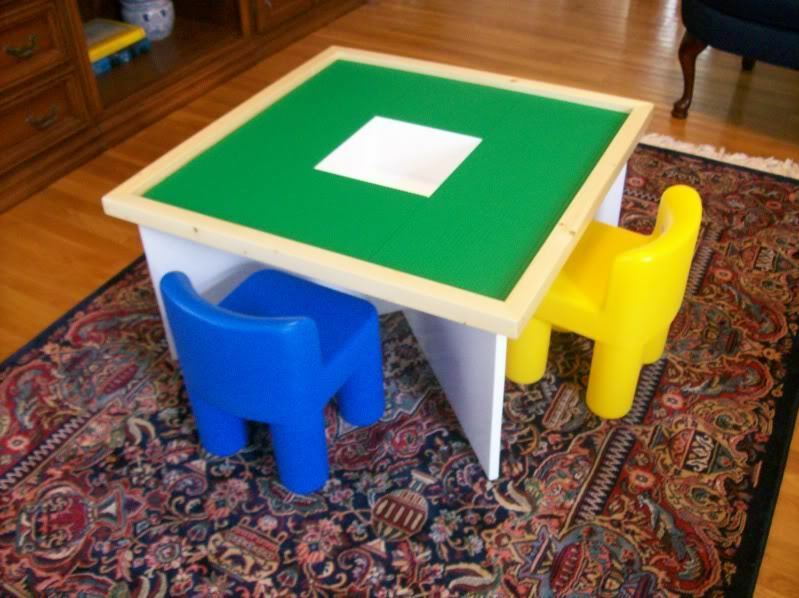 Plans To Build A Table For Use With Lego 174 Building Toys