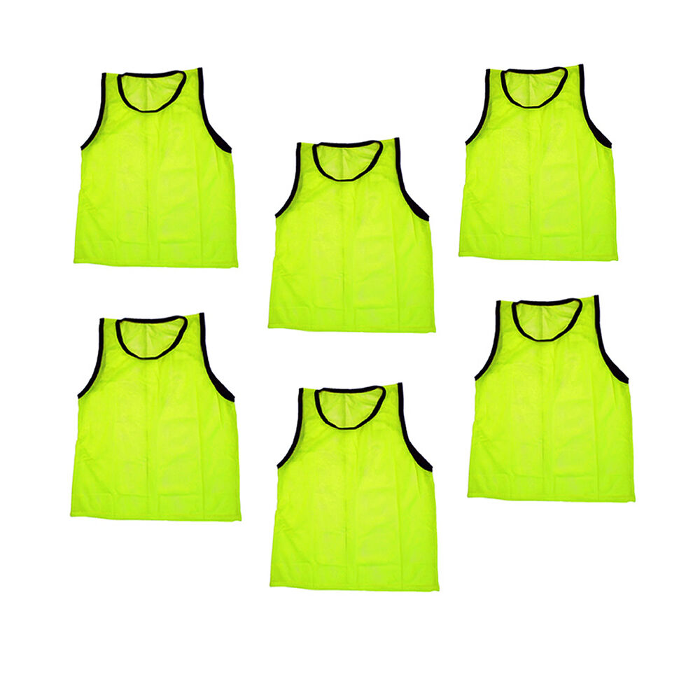 Adult Yellow Jersey Practice Uniform Pinnie Pennie Lacrosse Field ...: www.ebay.com/itm/6-ADULT-YELLOW-Jersey-practice-uniform-pinnie...