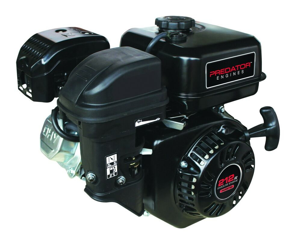 6 5 hp 212cc ohv horizontal shaft gas engine minibike go for Harbor freight blower motor