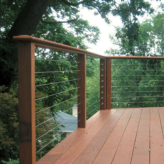 stainless cable railing deck railing raileasy turnbuckle. Black Bedroom Furniture Sets. Home Design Ideas