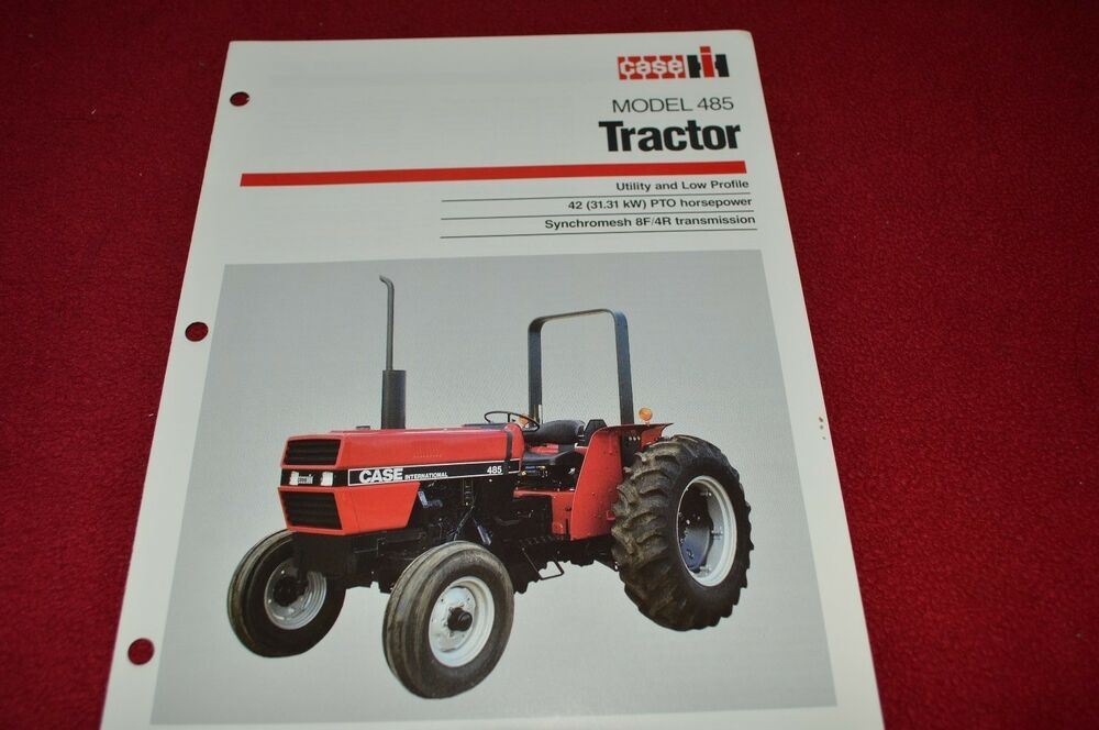 Case Tractor Showroom : Case international tractor dealer s brochure ad b