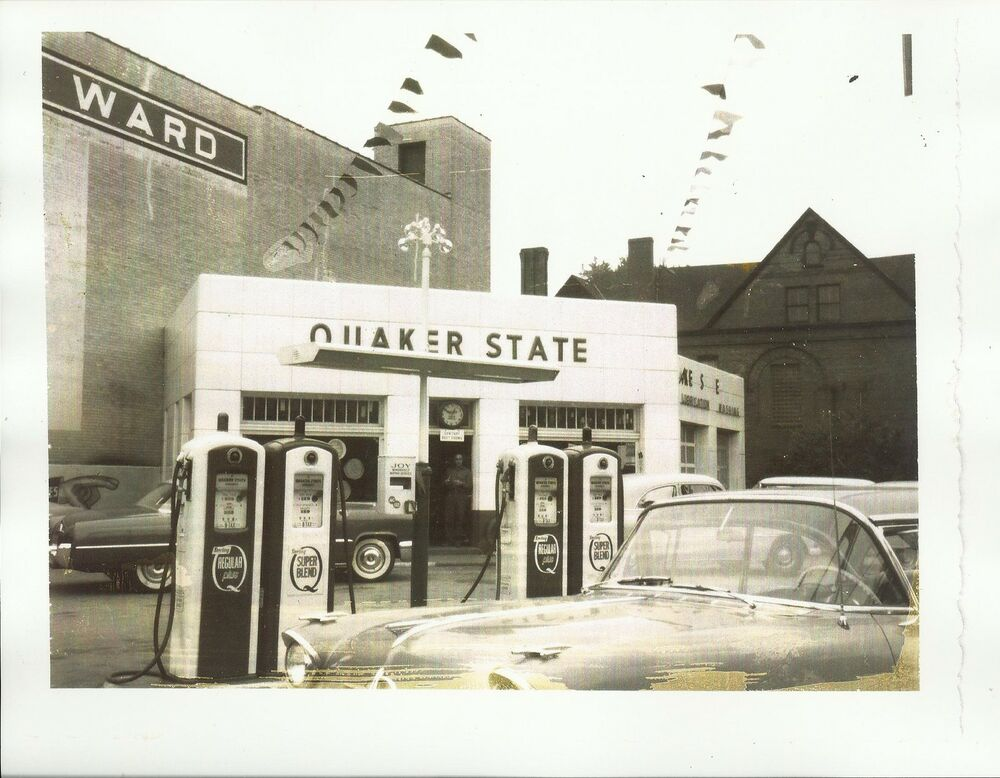 Kittanning (PA) United States  city photos : Old Photo Quaker State Gas Station Pumps Cars Kittanning PA | eBay