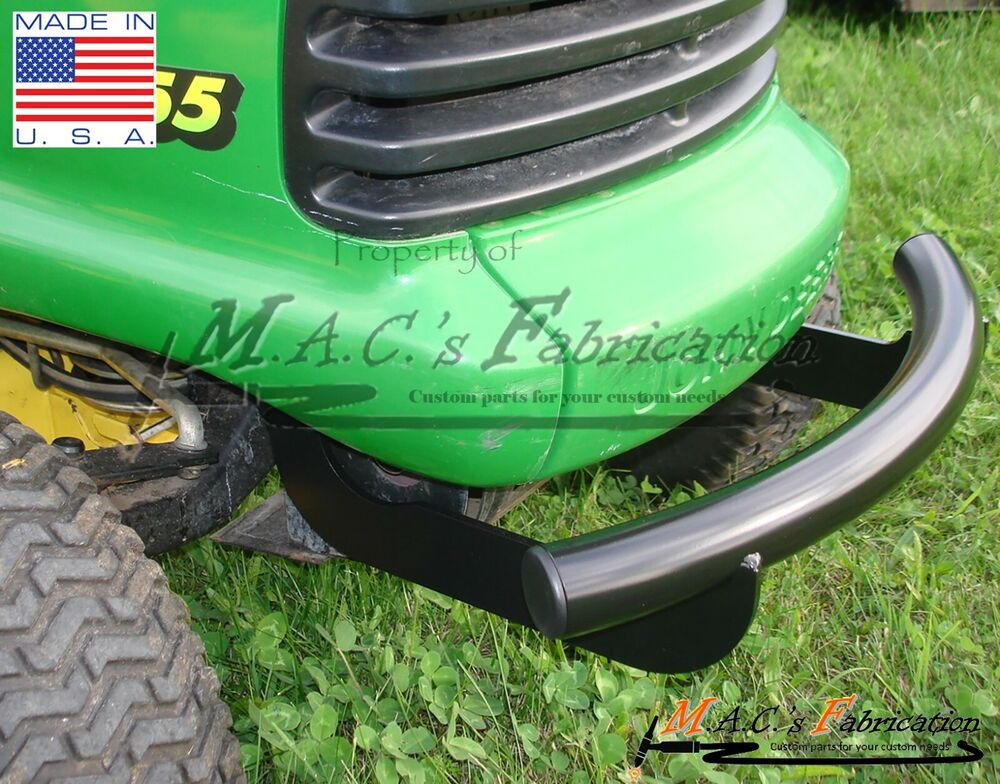 John Deere Front Bumper : John deere front bumper lt series lawn tractor