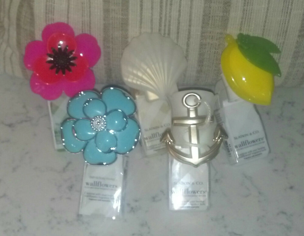 Bath body works wallflower fragrance diffusers ebay for Bath and body works scents best seller