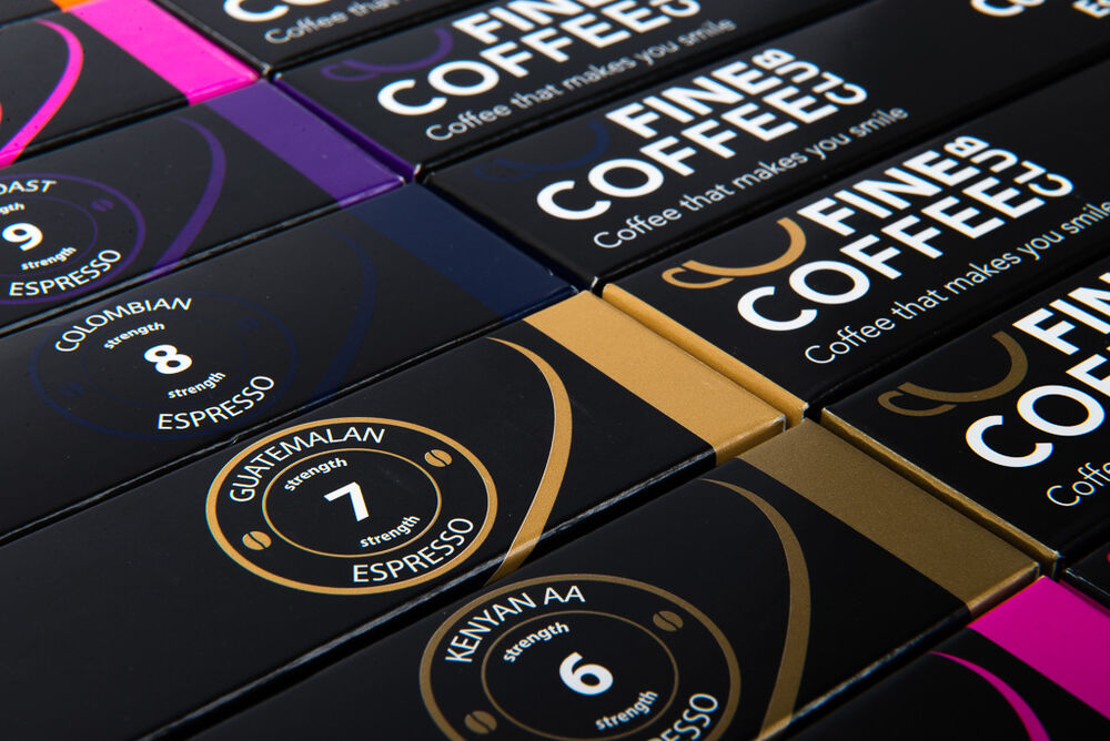 100 x nespresso compatible capsules coffee pods for nespresso machines ebay. Black Bedroom Furniture Sets. Home Design Ideas