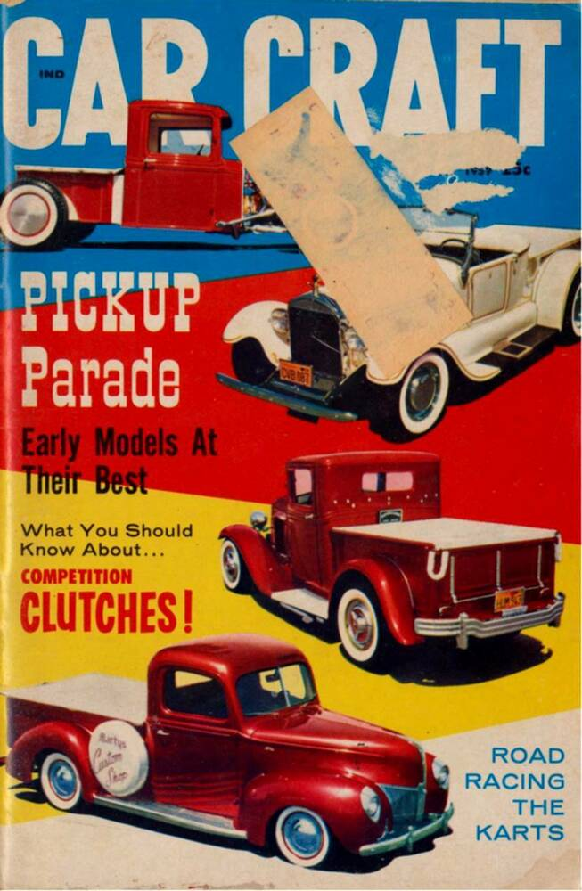 Car craft may 1959 early pick up model parade kart road for Car craft magazine back issues