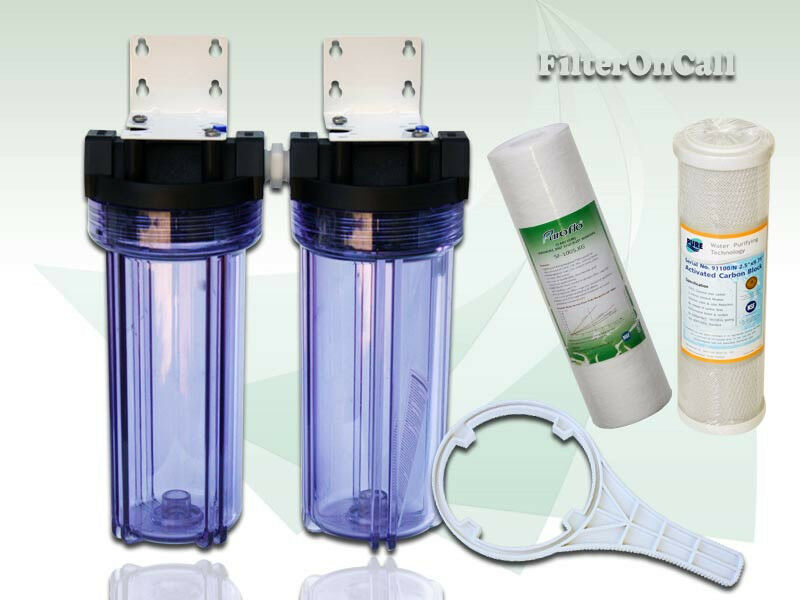 Whole House Water Filter System Kit Sediment Amp Carbon