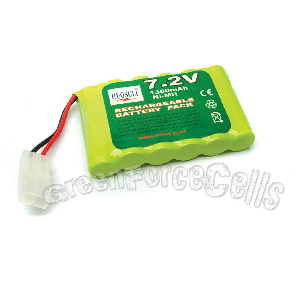 1 x rechargeable battery pack for 7 2v 1300mah nimh rc ebay. Black Bedroom Furniture Sets. Home Design Ideas