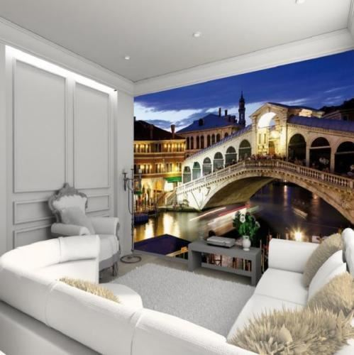 1 WALL GIANT EASY-HANG WALLPAPER MURAL VENICE RIALTO