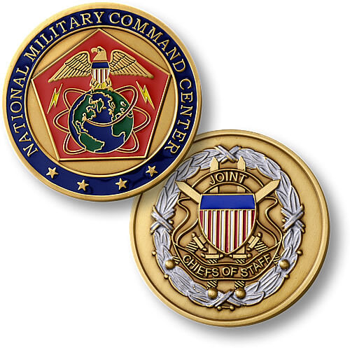National Military Command Center Challenge Coin Nmcc Joint
