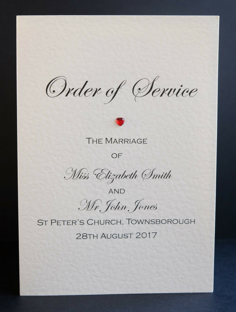 byron printable wedding order of service template connie joan