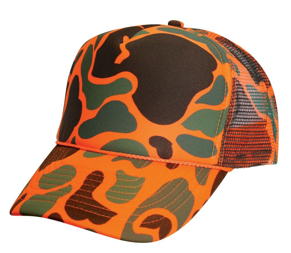 Camo Mesh Hats Car Interior Design