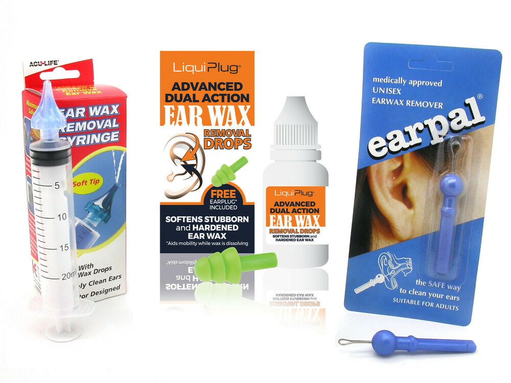 ACULIFE EAR WAX REMOVAL SYRINGE WITH EAROL & EARPAL ... Ear Wax Removal Kit