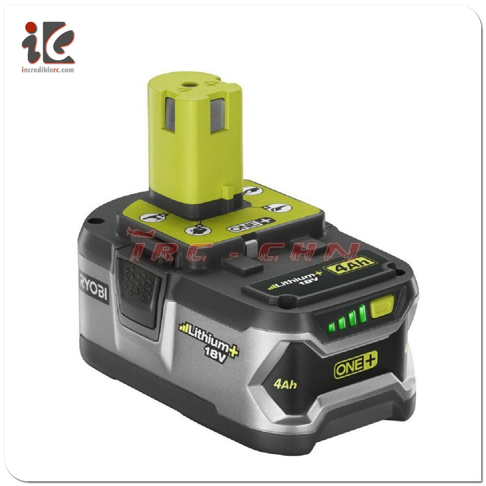 ryobi p108 battery 18v 18 volt one high capacity 4ah li. Black Bedroom Furniture Sets. Home Design Ideas