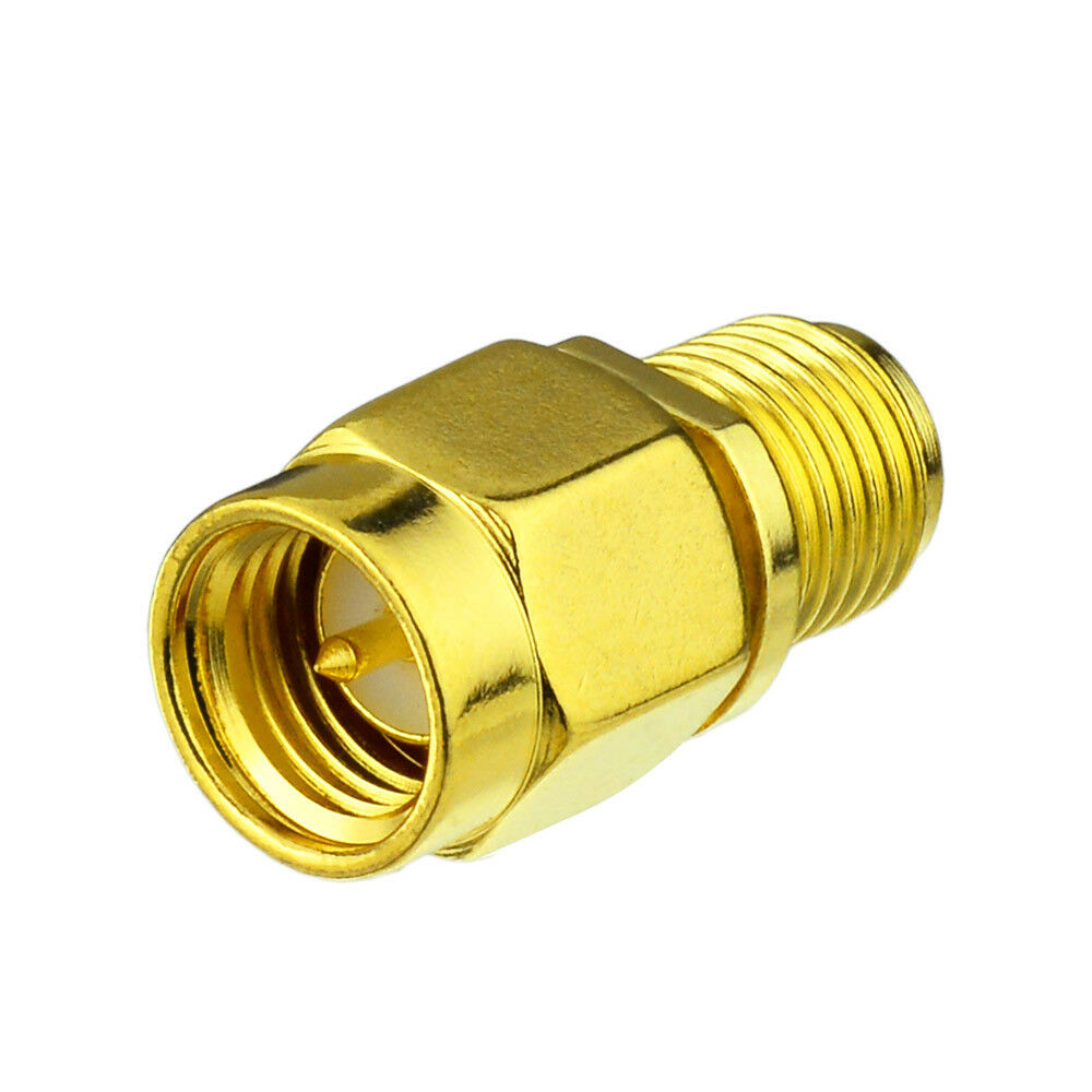 4pcs Sma Male To Rp Sma Female Jack Straight Rf Connector