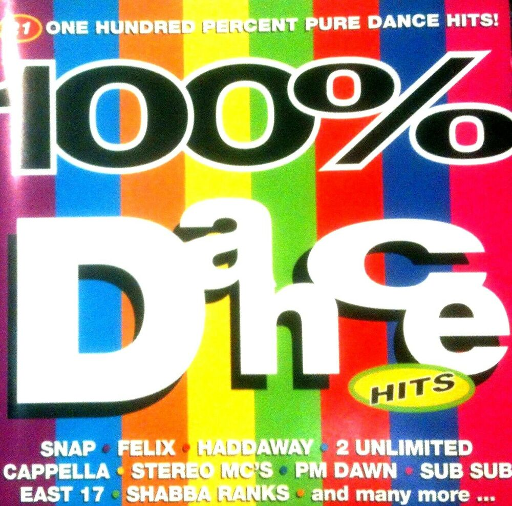 100 dance hits 1 x cd unmixed 90s oldskool dance rave for Classic house hits