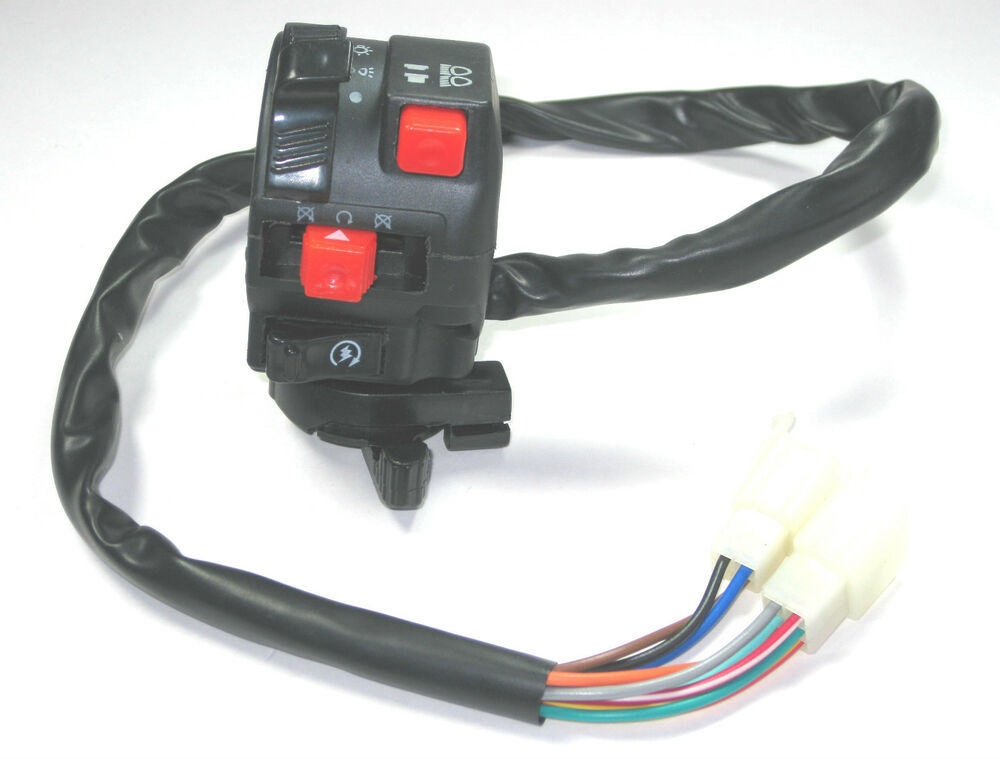 Chinese Atv Mini Quad Left Side Control Switch 50cc 70cdc