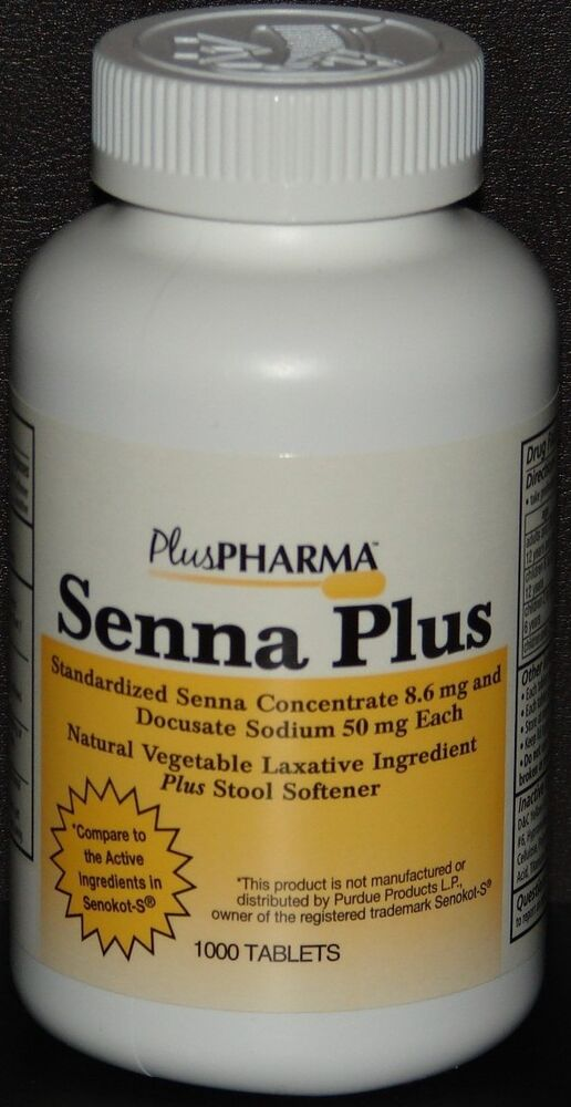 Pluspharma Senna Plus Compare To Senokot S Laxative