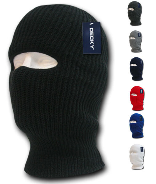 1 Hole Facemask Face Mask Tactical Beanies Balaclava Army Military Skiing Biker