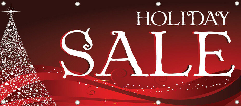 sale banner sign retail store holiday sale signs 96in x