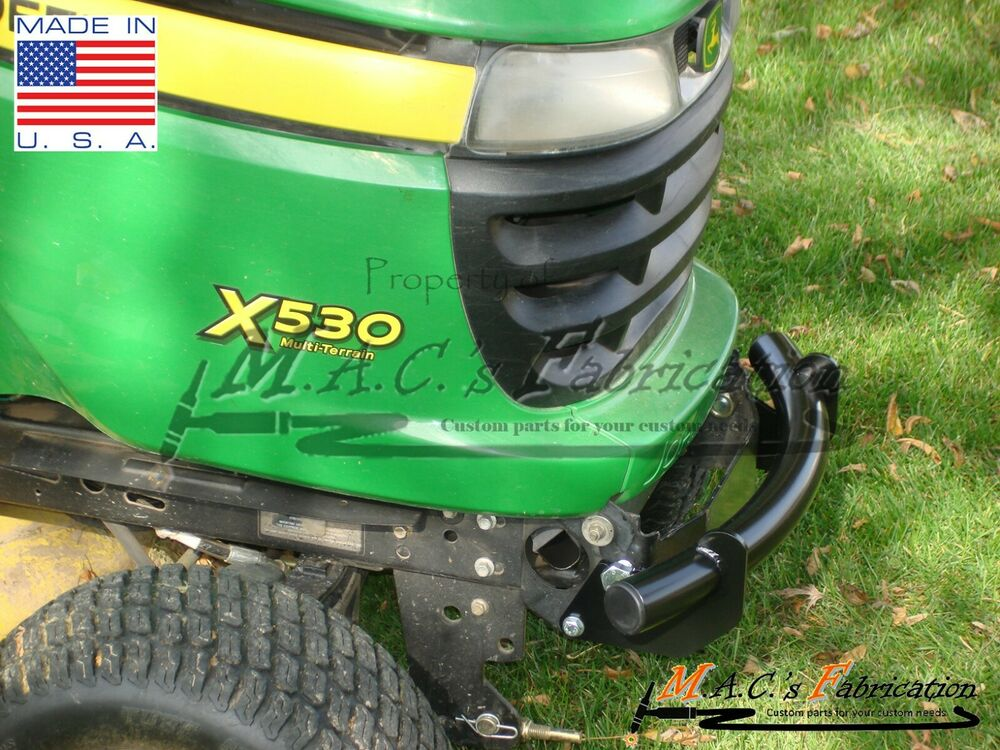 John Deere Front Bumper : John deere front bumper lawn tractor series