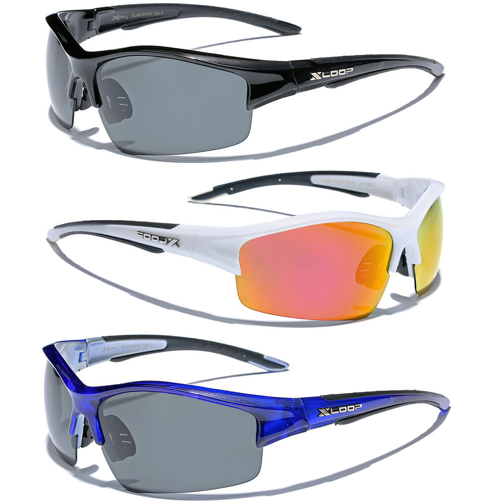 Polarized men 39 s fishing golf sport sunglasses polarised for Mens fishing sunglasses