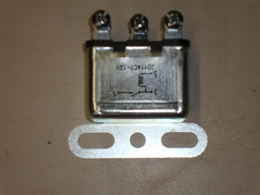 1956 56 Ford Car Horn Relay 12 V New Orignal 3 Wire Style New