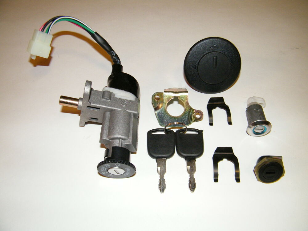 Scooter Ignition Switch Key Set 139QMB 50cc GY6 150cc Chinese Scooter Parts | eBay