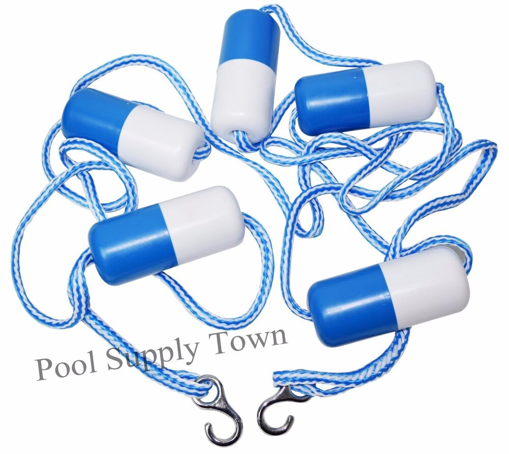 16 39 Feet Swimming Pool Safety Divider Rope Float Line