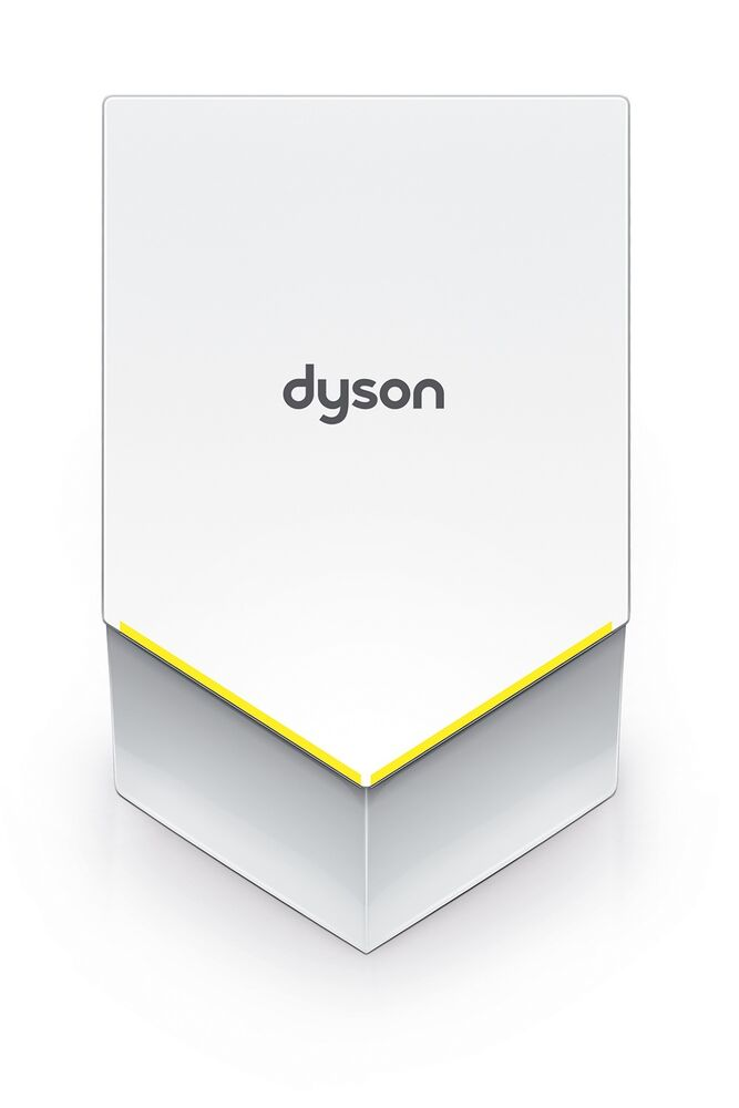 dyson airblade v hu02 hand dryer white abs cover ada. Black Bedroom Furniture Sets. Home Design Ideas