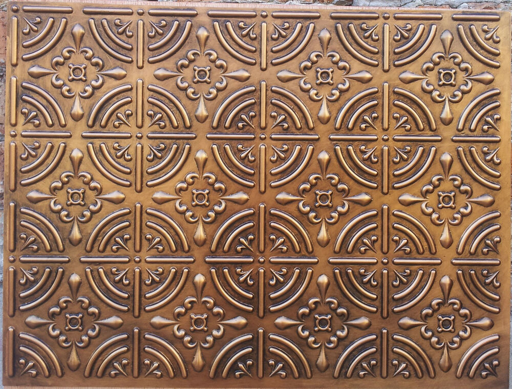 Embassy And Wall Design Ceiling Tiles : Plb faux tin embossed ceilings slabs roof decor wall