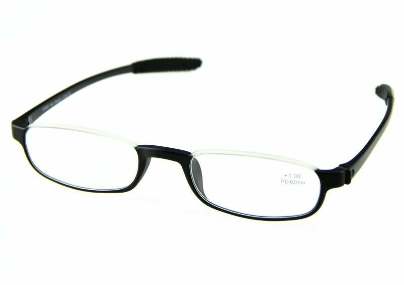Can Half Frame Glasses Be Repaired : Half Rimless TR90 Frame Reading Glasses Black Fashionable ...