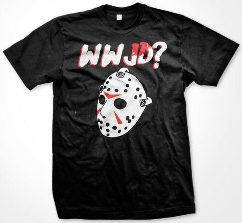 WWJD What Would Jason Do Jason Voorhees Halloween Scary