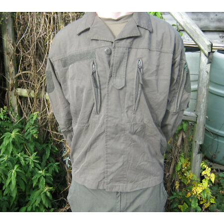 img-Austrian Army Lightweight Ripstop Jacket Combat Field Military Surplus Olive