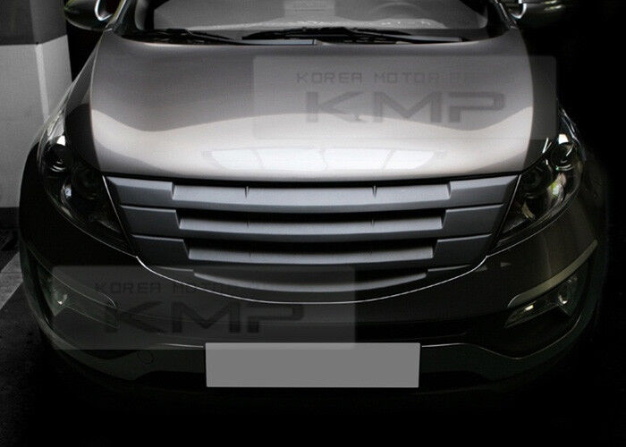 FRONT Hood Radiator Grill Unpainted For KIA 2011-2013 ...