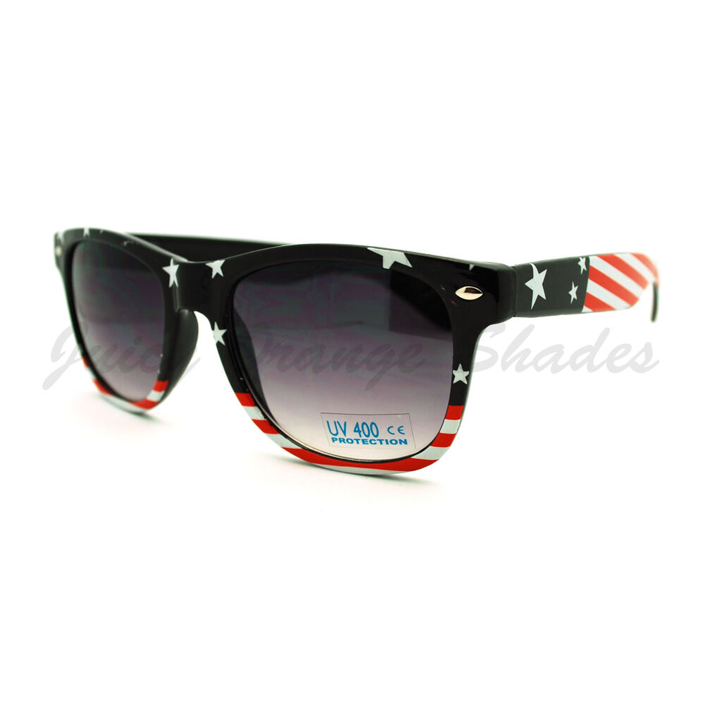 American flag sunglasses classic wayframe patriotic us for American classic frames