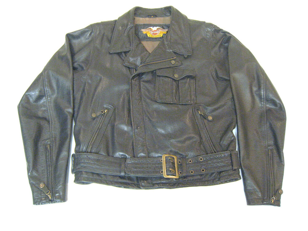 Harley davidson leather motorcycle jackets for men