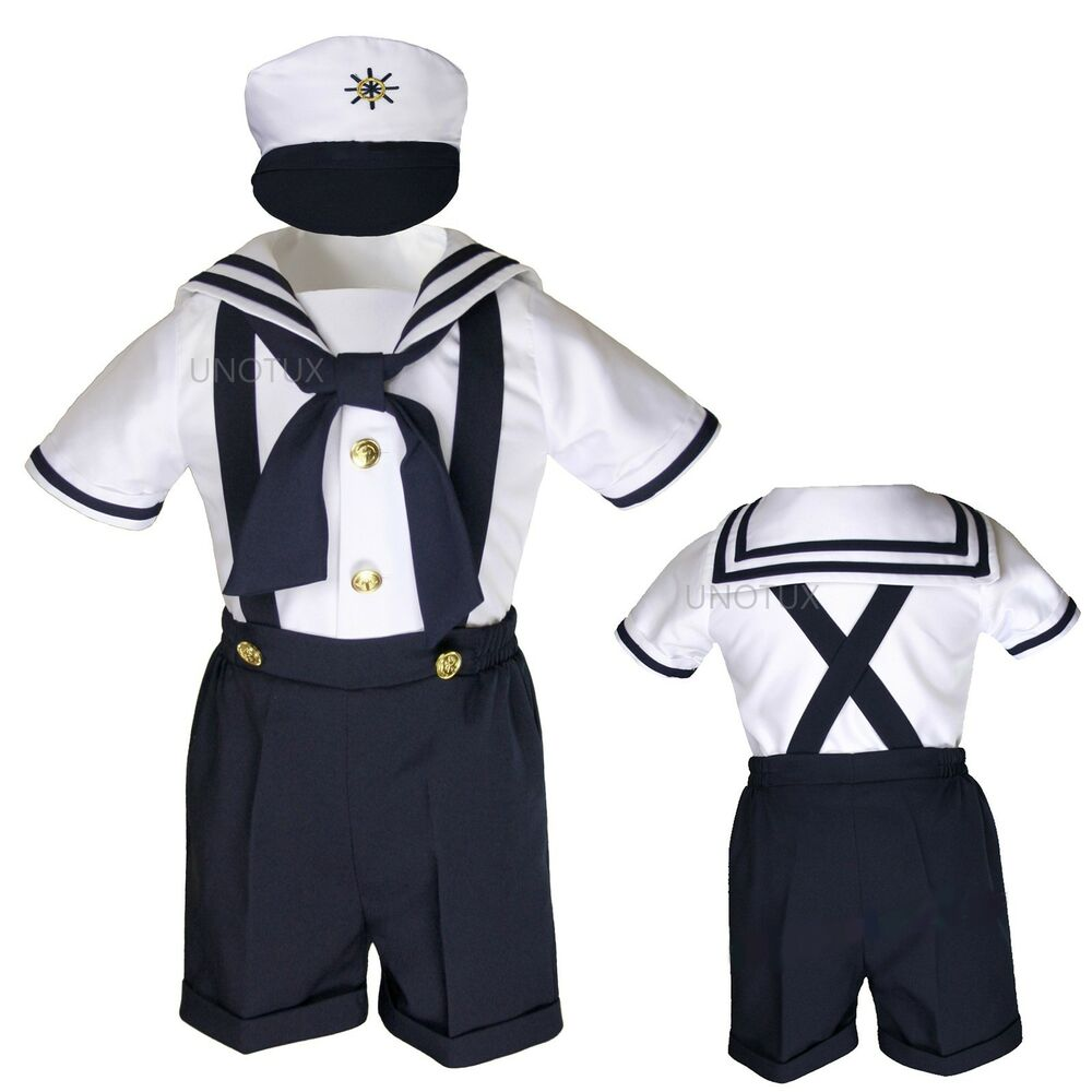 Toddler Boys Designer Sailor Themed Clothes Baby Boy Toddler Formal Party