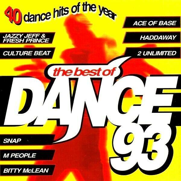 The best of dance 93 2 x unmixed cds 90s oldskool dance for Classic house unmixed