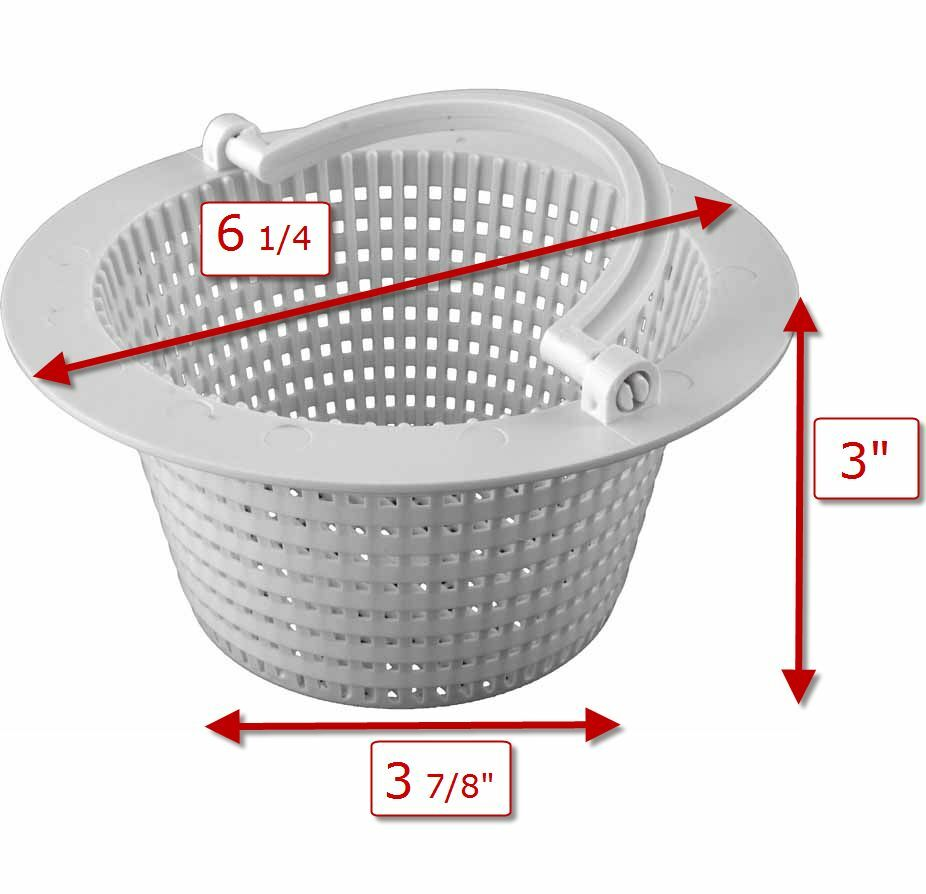 Pool and spa skimmer basket fits pentair hydroskim skimmer - Swimming pool skimmer basket parts ...