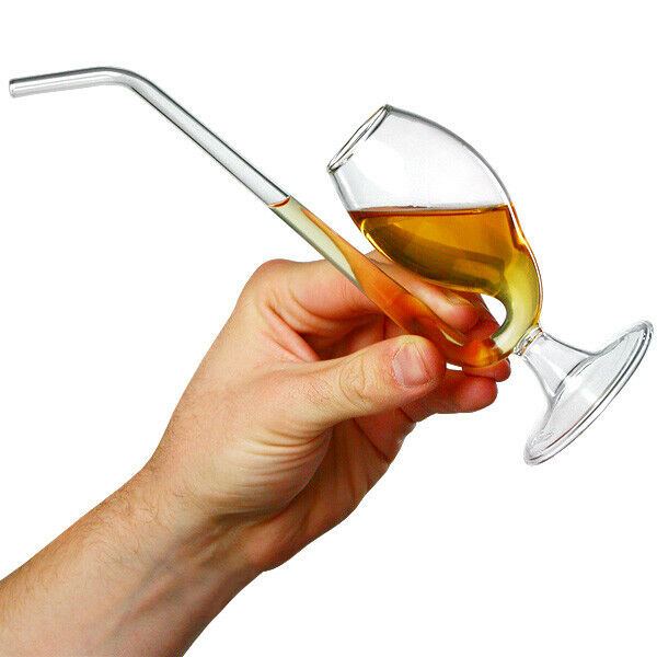Brandy pipe in gift box port pipe port sipper unique Unusual drinking glasses uk