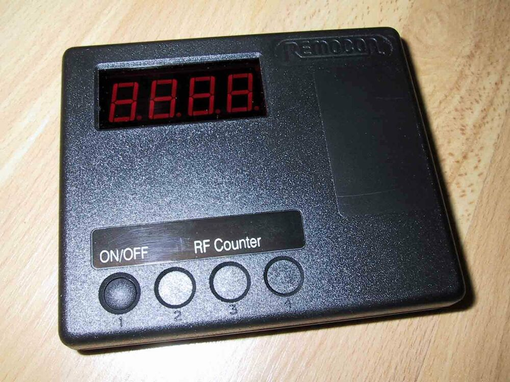 Remocon Frequency Counter Rf Remote Control Duplicator