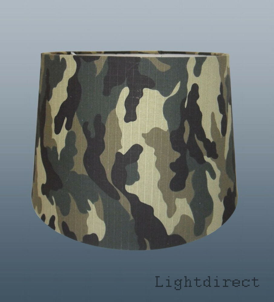 Kids Army Military Forest Camo Jungle Camouflage Lamp