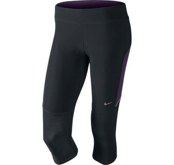 Lastest Nike Womens Oregon Ducks Obsessed Drifit Capri Pants In