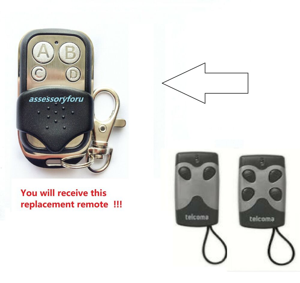 Automatic Gate Remote Control Replacement For Telcoma