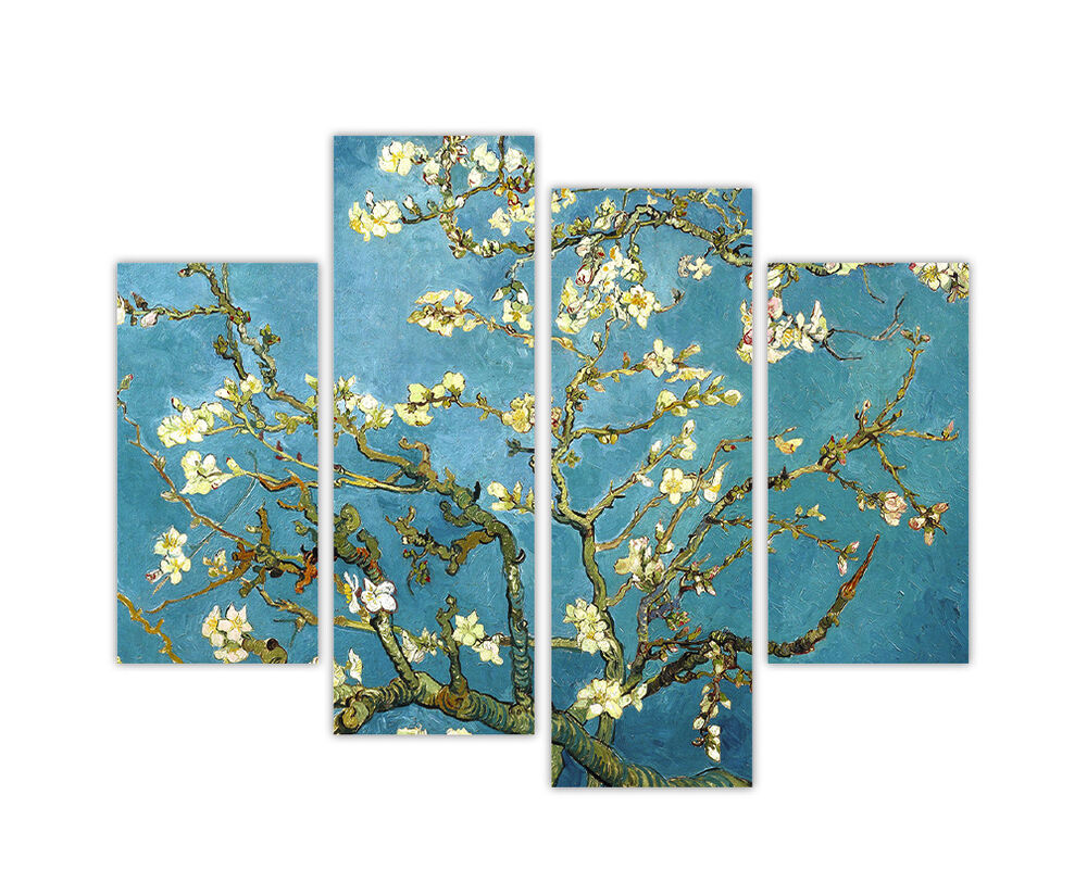 Extra Large Canvas Prints Vincent Van Gogh Almond Blossom