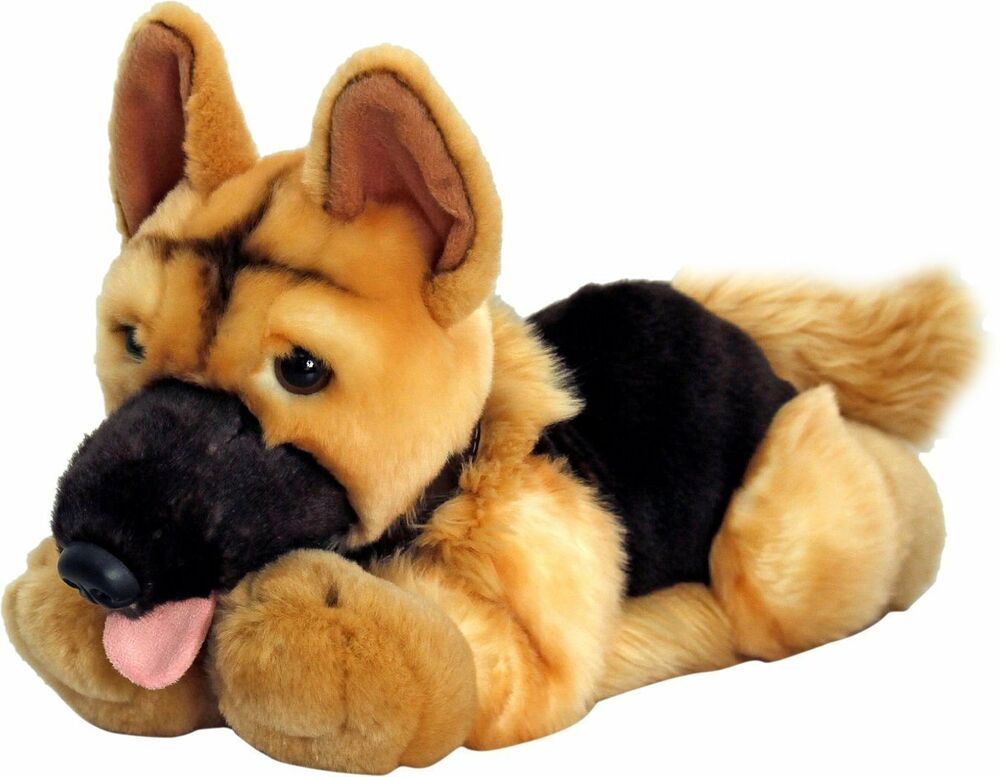 Soft Dog Toys : Keel soft toys cm nero the alsatian hand made plush